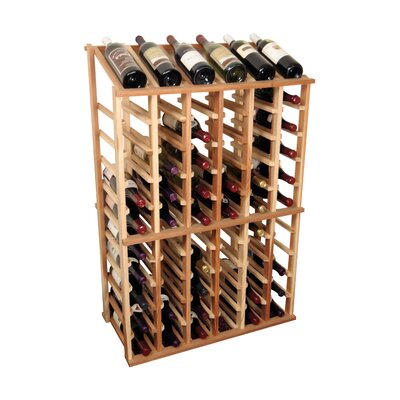 Designer Series 66 Bottle Floor Wine Rack Finish: Unstained Premium Redwood