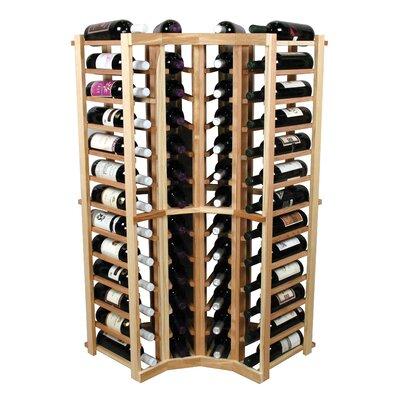 Vintner 52 Bottle Floor Wine Rack Finish: Unfinished