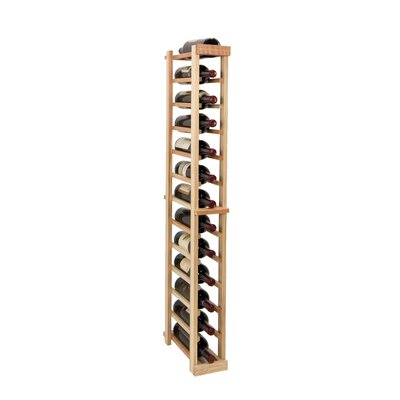 Vintner Series 13 Bottle Floor Wine Rack Finish: Midnight Black