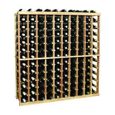 Vintner Series 130 Bottle Floor Wine Rack Finish: Dark Walnut