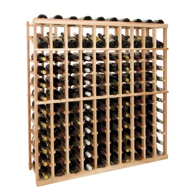 Vintner Series 120 Bottle Floor Wine Rack Finish: Dark Walnut