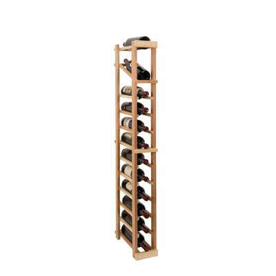 Vintner Series 12 Bottle Floor Wine Rack Finish: Midnight Black
