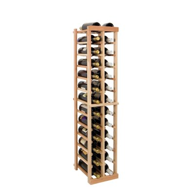 Vintner Series 26 Bottle Floor Wine Rack Finish: Midnight Black