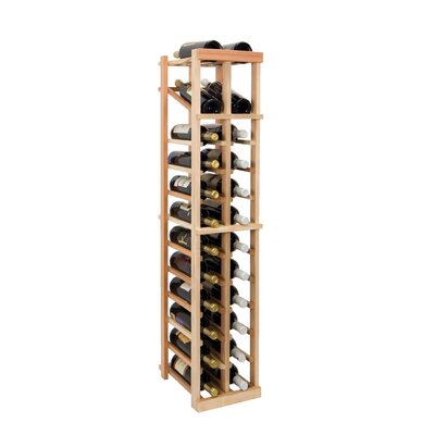 Vintner Series 24 Bottle Floor Wine Rack Finish: Dark Walnut