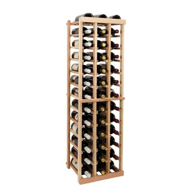 Vintner Series 39 Bottle Floor Wine Rack Finish: Midnight Black