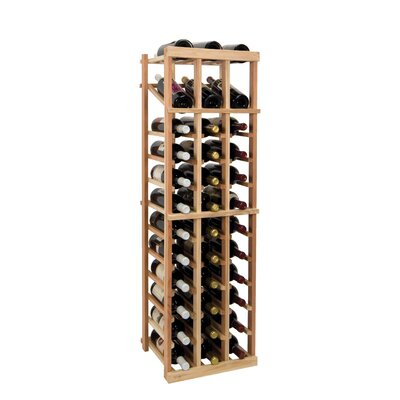 Vintner Series 36 Bottle Floor Wine Rack Finish: Midnight Black