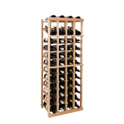 Vintner Series 48 Bottle Floor Wine Rack Finish: Midnight Black