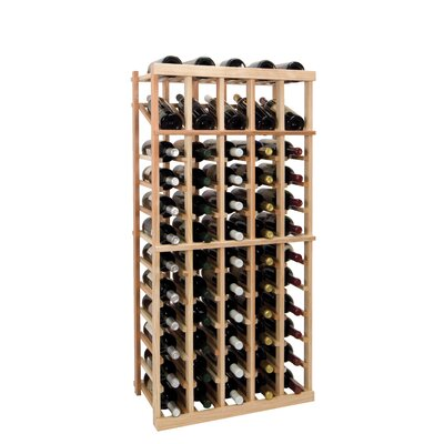 Vintner Series 60 Bottle Floor Wine Rack Finish: Midnight Black