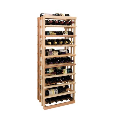 Vintner Series 30 Bottle Floor Wine Rack Finish: Midnight Black