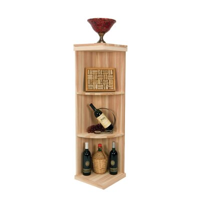 Vintner Series 3 Bottle Floor Wine Rack Finish: Midnight Black