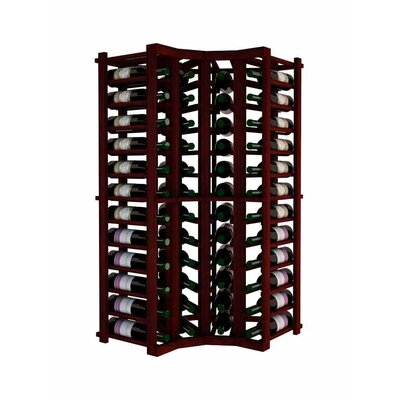 Vintner 52 Bottle Floor Wine Rack Finish: Classic Mahogany