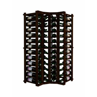 Vintner 52 Bottle Floor Wine Rack Finish: Dark Walnut