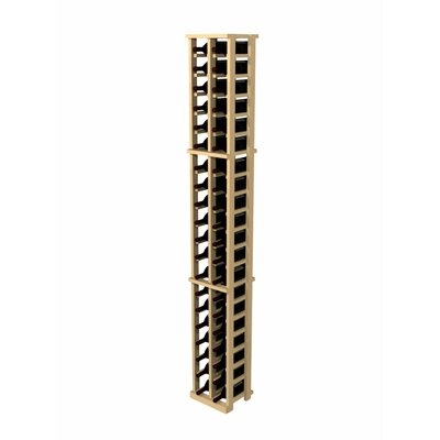 Rustic Pine 42 Bottle Wall Mounted  Wine Rack