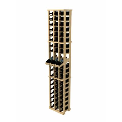 Rustic Pine 60 Bottle Wall Mounted Wine Rack
