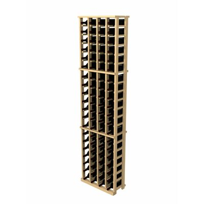 Rustic Pine 84 Bottle Wall Mounted Wine Rack