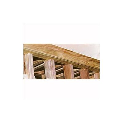 Premium Redwood Cardboard Curved Trim Kit