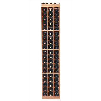 Designer Series 60 Bottle Floor Wine Rack Finish: Premium Redwood Midnight Stain