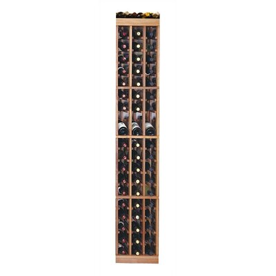Designer Series 57 Bottle Floor Wine Rack Finish: Dark Stained Premium Redwood