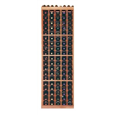 Designer Series 100 Bottle Floor Wine Rack Finish: Unstained Premium Redwood