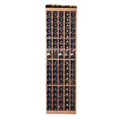 Designer Series 95 Bottle Floor Wine Rack Finish: Unstained Premium Redwood