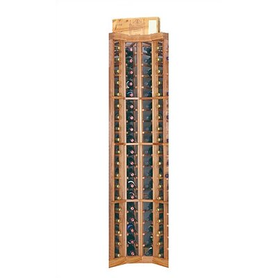Designer Series 74 Bottle Floor Wine Rack Finish: Classic Stained Premium Redwood