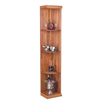 Designer Series 4 Bottle Floor Wine Rack Finish: Unstained Premium Redwood