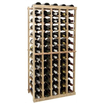 Vintner Series 65 Bottle Floor Wine Rack Finish: Unfinished