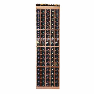 Designer Series 95 Bottle Floor Wine Rack Finish: Dark Stained Premium Redwood