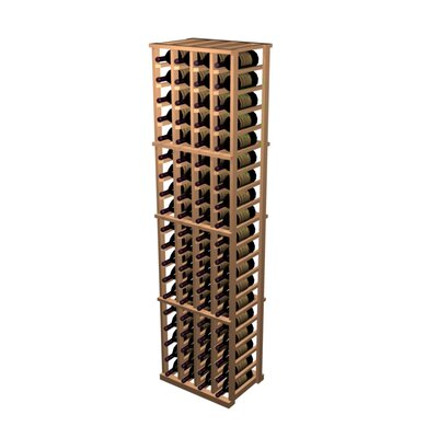 Wine Cellar Designer Series 80 Bottle 4 Column Individual Wine Rack (2 Pieces) - Wood Type: Prime Mahogany, Finish: Midnight Black at Sears.com