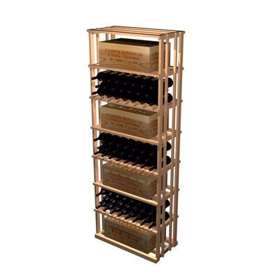 Designer Series 153 Bottle Floor Wine Rack Finish: Unstained Premium Redwood