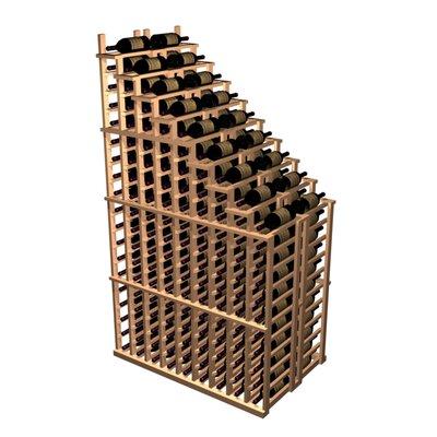 Wine Cellar Designer Series 135 Bottle Left Falling Waterfall Wine Rack - Wood Type: Premium Redwood, Finish: Unstained at Sears.com