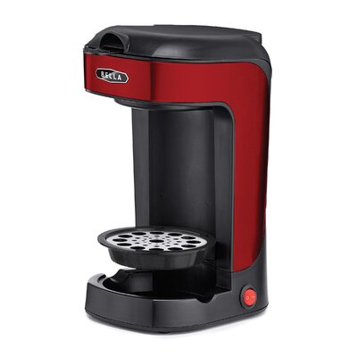 Single Scoop Coffee Maker Color: Red 14485