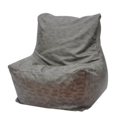 Quicksand Bean Bag Lounger Upholstery: Gray