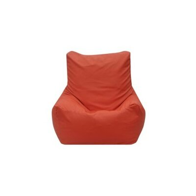 Quicksand Bean Bag Lounger Upholstery: Orange