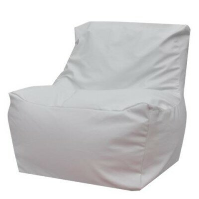 Quicksand Bean Bag Lounger Upholstery: White