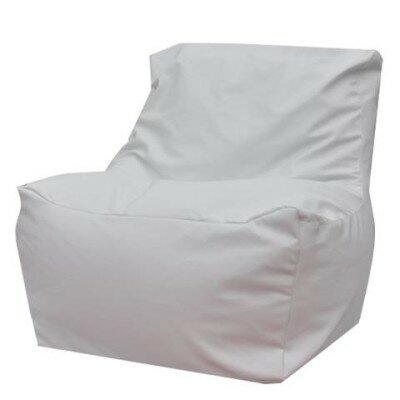 Quicksand Bean Bag Lounger Upholstery: White
