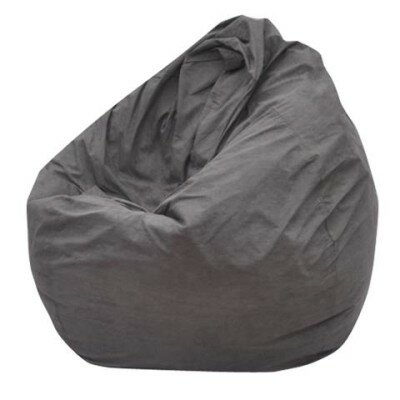 The Big Pear Bean Bag Chair Upholstery: Gray