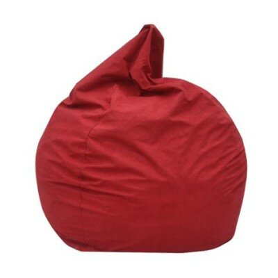 The Big Pear Bean Bag Chair Upholstery: Red