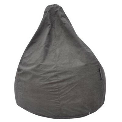 The Pear Bean Bag Chair Upholstery: Grey