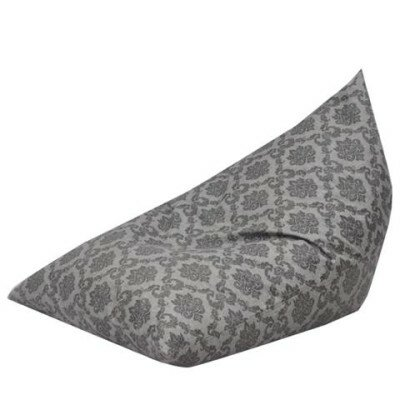 The Teardrop Bean Bag Lounger Upholstery: Grey