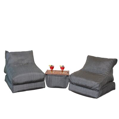 Noir Bean Bag Set