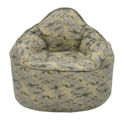 The Pod Bean Bag Chair Upholstery: Light Camo