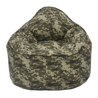 The Pod Bean Bag Chair Upholstery: Green Camo