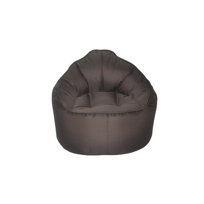 The Giant Pod Bean Bag Chair Upholstery: Brown
