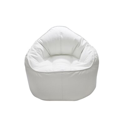 The Giant Pod Bean Bag Chair Upholstery: White
