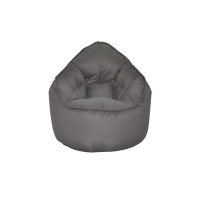 The Pod Bean Bag Chair Upholstery: Gray