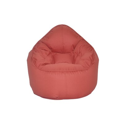 The Pod Bean Bag Chair Upholstery: Red