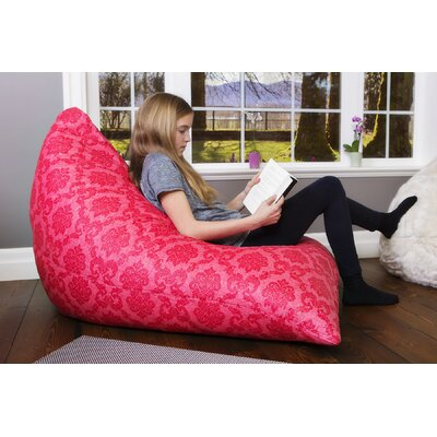 The Teardrop Bean Bag Lounger Upholstery: Pink