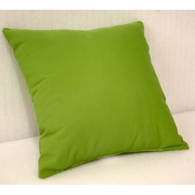 "Trijaya Living Sunbrella Throw Cushion - Fabric: Canvas Ginko, Size: 14"" H x 14"" W at Sears.com"