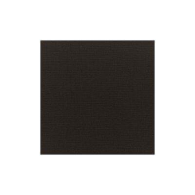 Malibu Outdoor Teak 6 Piece Deep Seating Group Set Fabric: Black
